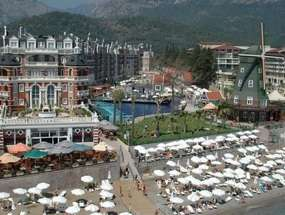 Пляж отеля ORANGE COUNTY RESORT HOTEL 5 *