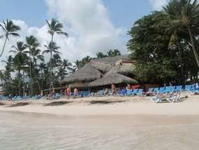 Пляж отеля BARCELO DOMINICAN BEACH 4*