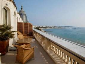 Терраса отеля InterContinental Carlton Cannes 5*